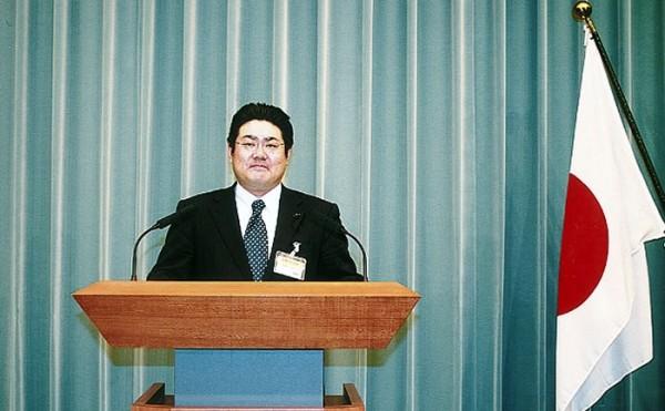 2007年11月16日 官房長官席にて