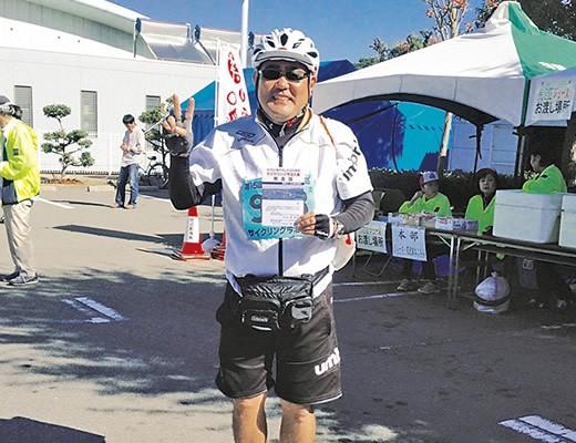 2015年10月26日 第15回しまなみ海道サイクリング今治大会で見事完走!