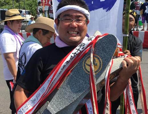 2017年7月30日 水軍レースにて/悲願の初優勝!!